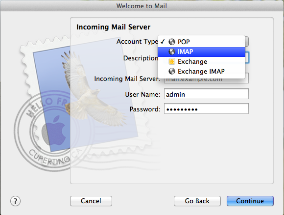 Email For MacOSX 5